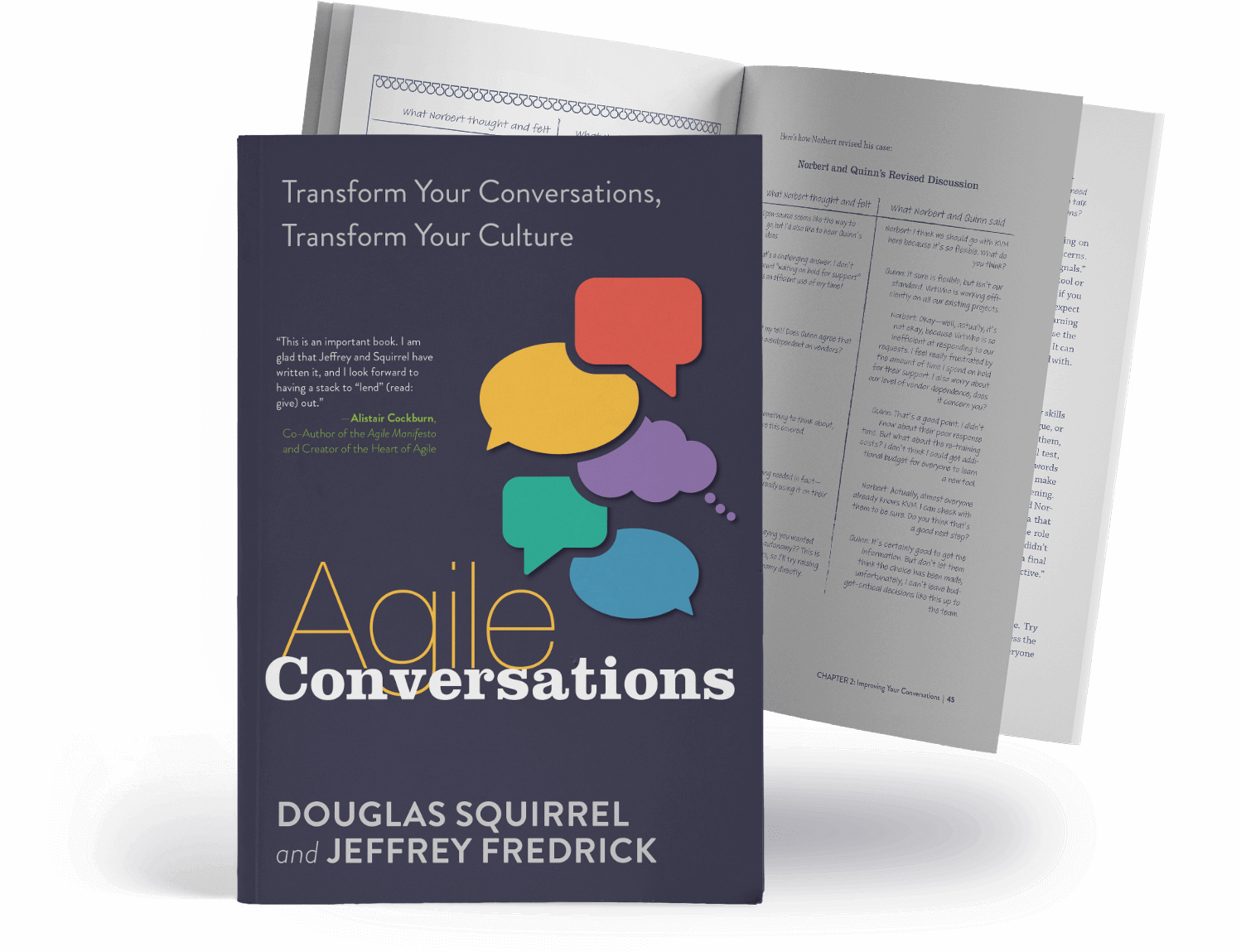 Agile Conversations Book